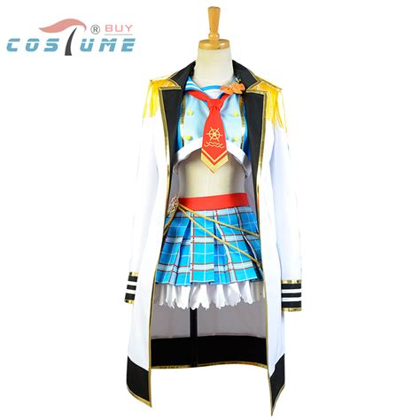 costume for new year lovelive live hoshizora rin ᗚ navy navy costume