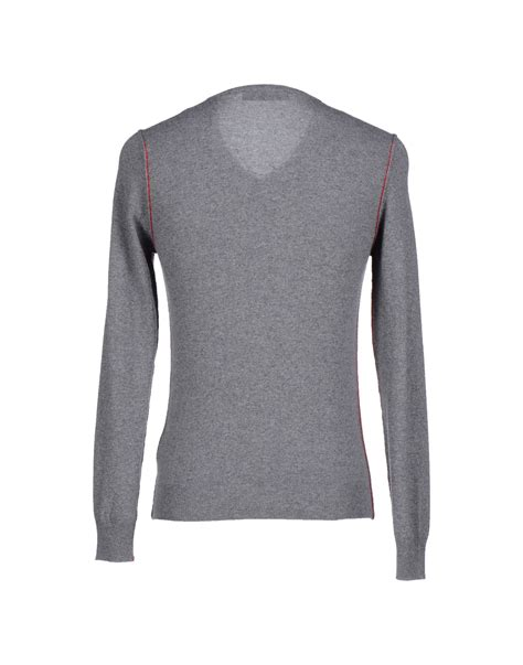 Jumper Moschino moschino gray jumper for lyst