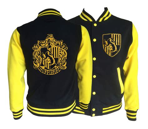 jacket design philippines vintage style harry potter inspired hufflepuff house varsity