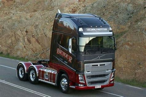 volvo commercial vehicles australia volvo detour transport australia lorries pinterest