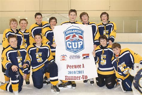 steamboat youth hockey tournament steamboat s pee wee a team just misses title at state