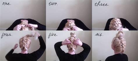 what can ubdo to make your hair cruddy upside down dutch braid bun tutorial grace braver
