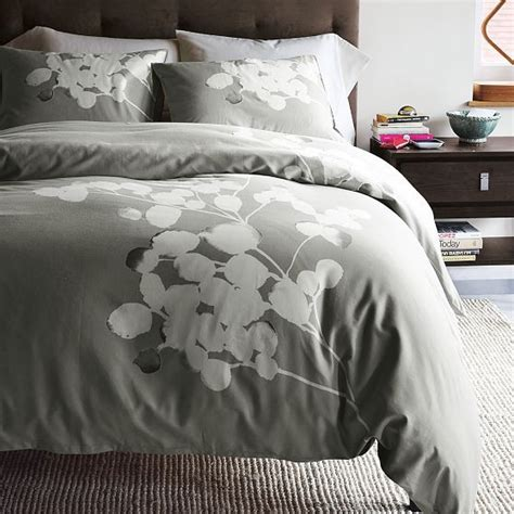 solarized duvet cover shams modern bedding by west elm