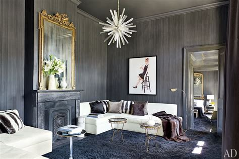 gray living room ideas photos architectural digest fifty shades of gray in classical interiors 2016