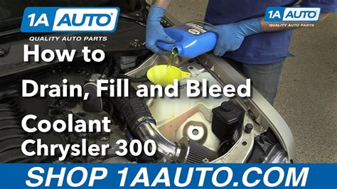 how to bleed radiator on a 1996 chrysler sebring how to drain fill and bleed radiator 2006 chrysler 300 buy quality parts from 1aauto com youtube