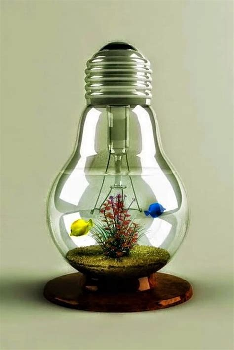 40 original light bulb aquarium decor ideas bored art