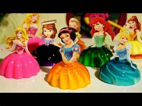 moldes para hacer gelatinas infantiles mini princesas disney rellenas jello gelatina rosvi