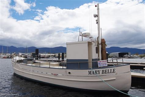 boat brokers tas 48 tasmanian fishing boat mary belle commercial