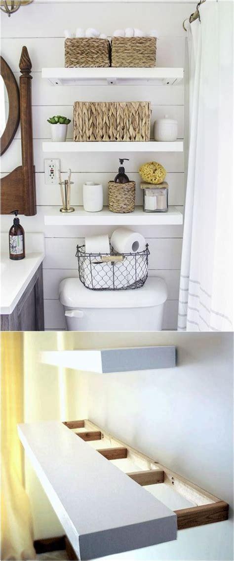 floating shelves for bathroom 25 best ideas about shelves over toilet on pinterest