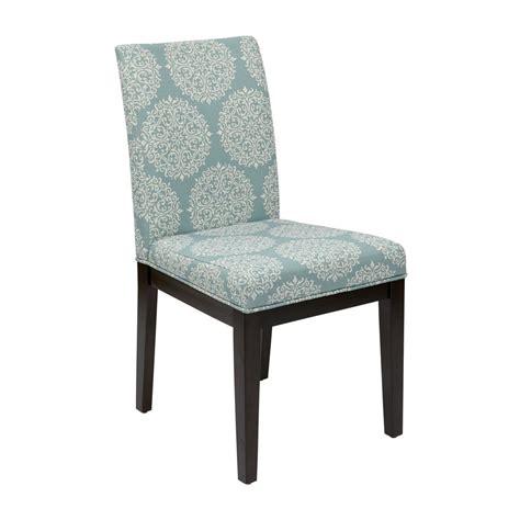 fabric parsons chairs ave six gabrielle sky fabric dakota parsons chair dak g31