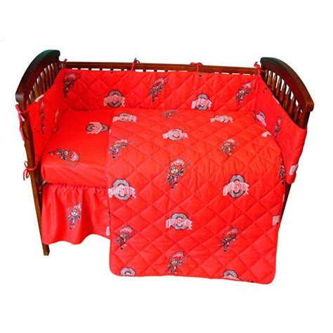 Ohio State Crib Bedding Ohio State Baby Bedding