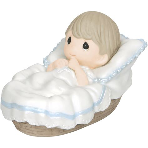 Precious Moments 521701 Boys Club baptism gifts baptized in his name boy bisque