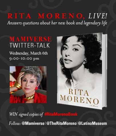 wit exalting motherhood while honoring a great books legend moreno joins mamiverse for live