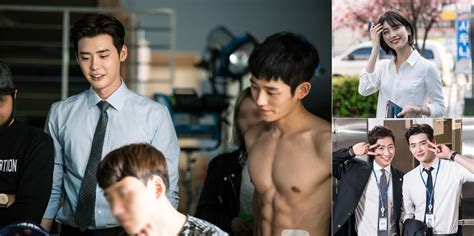 bts while you were sleeping suzy lee jong suk and jung hae in show off great teamwork
