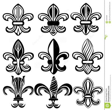fleur de lis new orleans symbol stock vector image 26455289