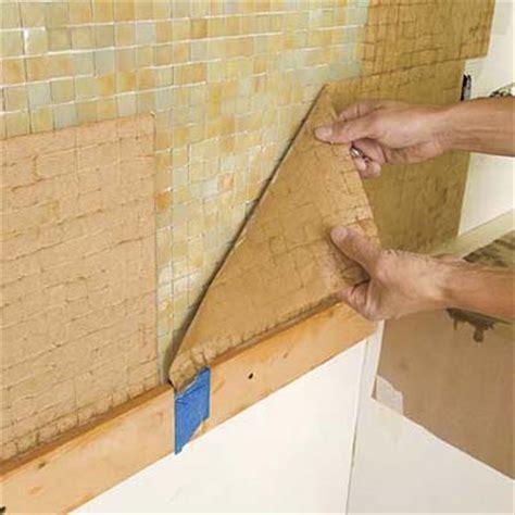 how to install backsplash tile sheets in kitchen white subway tile poser des mosa 239 ques murales le roi de la bricole