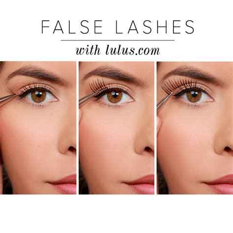 How To Wear False Eyelashes by Lulus How To 3 Ways To Wear False Eyelashes Lulus
