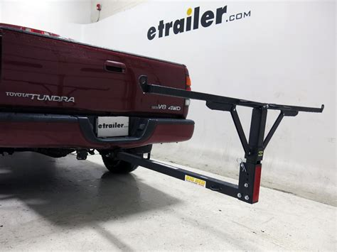 hitch bed extender erickson big bed load extender for 2 quot hitches 400 lbs