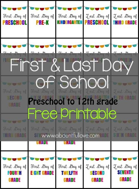 day of school sign template best 25 school signs ideas on
