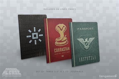 papers  passport notebooks fangamer