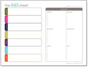 Editable Menu Planner Template by Menu Planning Perfection Design Finch
