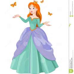 princess and butterflies stock vector image 38939869