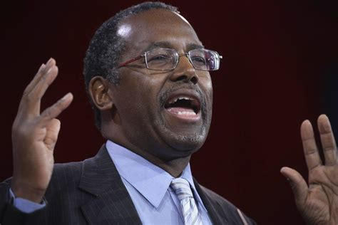 bed carson dr ben carson apologizes for saying being gay is a choice