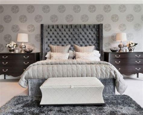 Concept Ideas For Grey Tufted Headboard Design как расставить мебель в спальне ремонт без проблем
