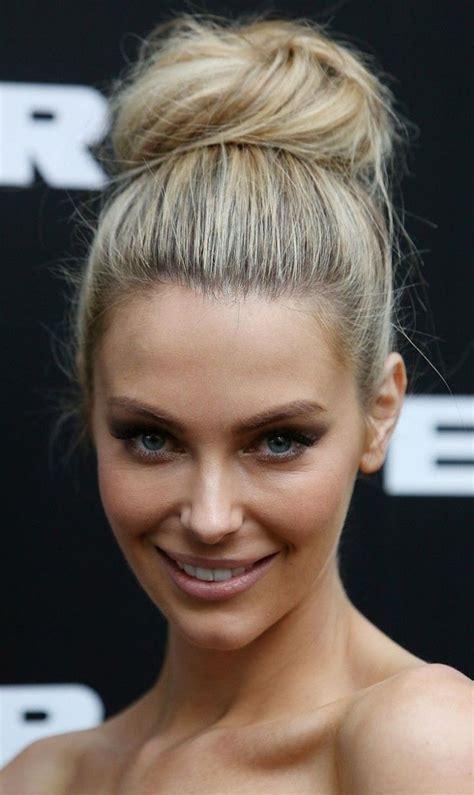25  best ideas about High bun hairstyles on Pinterest
