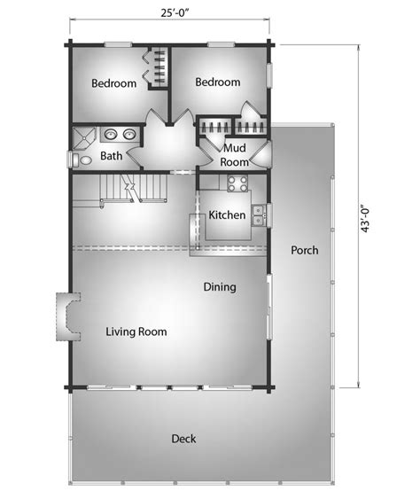 Kodiak Floor Plans by Kodiak Katahdin Cedar Log Homes Floor Plans