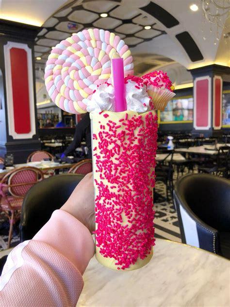 pink freak shake  sugar factory freak shakes