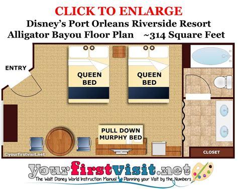 Disney World Resort Hotel Floor Plans - review disney s port orleans riverside resort