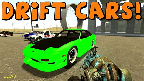 mod garry s mod car garry s mod drift cars and rally cars youtube