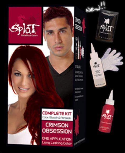 splat crimson obsession stores free splat crimson obsession hair dye low gin hair