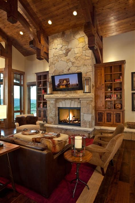 rustic family room ideas 15 warm rustic family room designs for the winter