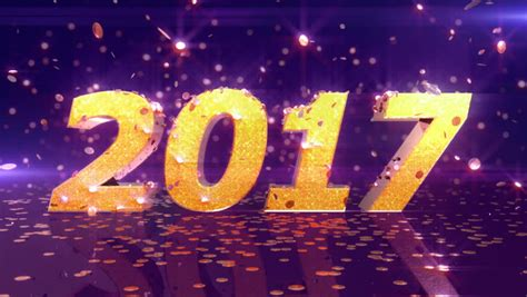 best new animation fireworks happy new year text animation series 4