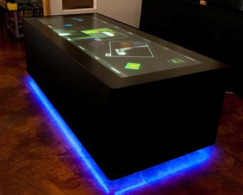 ideum create ultra wide multitouch table slashgear