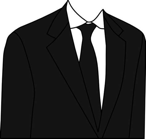 suit clipart black suit clip at clker vector clip