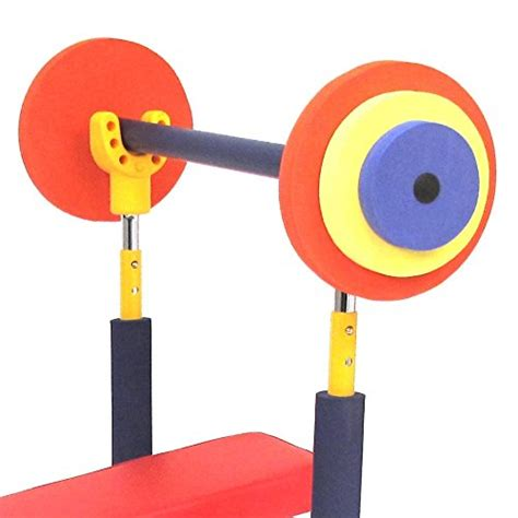 fun and fitness weight bench for kids redmon fun and fitness exercise equipment for kids weight bench set new