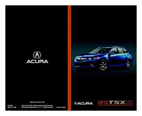 chilton car manuals free download 2012 acura tsx interior lighting download 2012 acura tsx advanced technology guide pdf manual 20 pages
