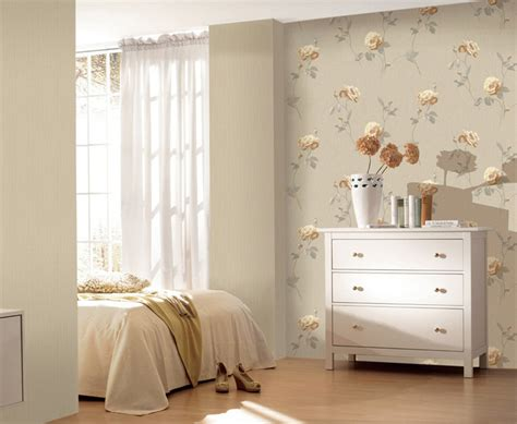 Wallpaper Bedroom Design Pic Of 3d Modern Bedroom With Wallpaper 3d House
