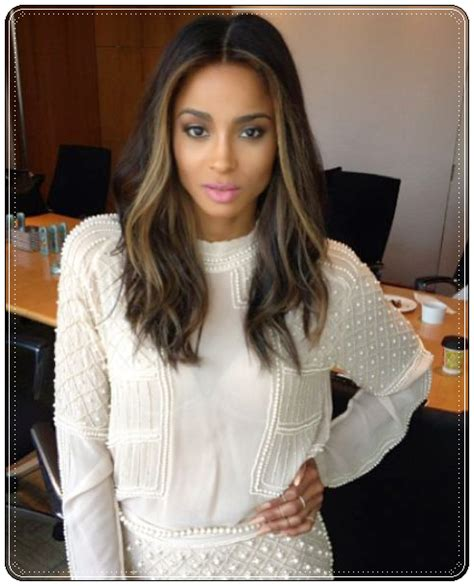 blonde in the front and brown and peekaboo highlights in pinterest hairstyles 2014 5 flattering dark hair with highlights