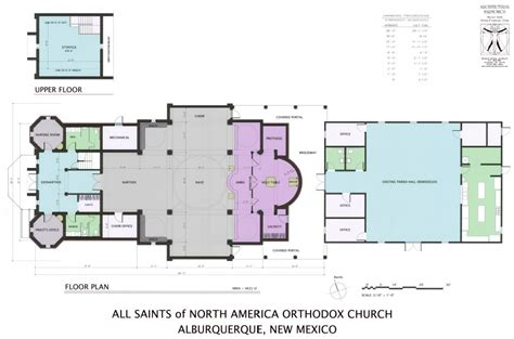 floor plans for churches all saints of north america building project