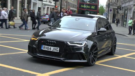Audi Rs6 Youtube by One Seriously Loud Audi Rs6 In London Youtube