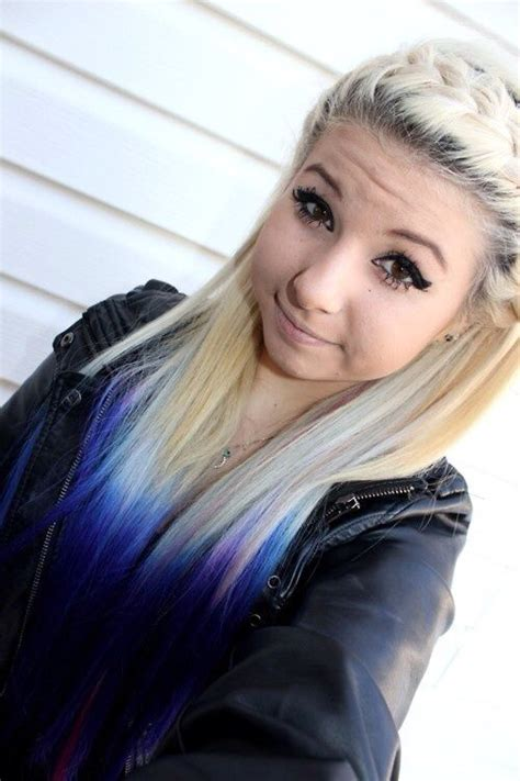 hairstyles blonde tips 116 best images about emo hairstyles on pinterest scene