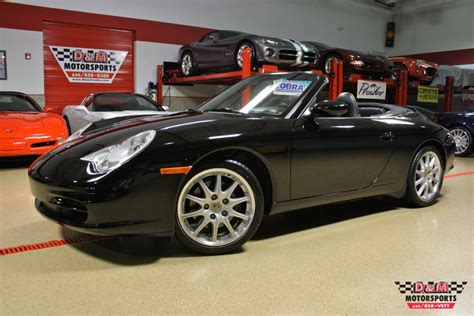 2003 Porsche 911 Cabriolet For Sale 2003 Porsche 911 Cabriolet Stock M5318 For Sale
