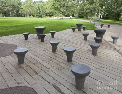 Park Tables by Chess Tables At A Park Photograph By Jaak Nilson