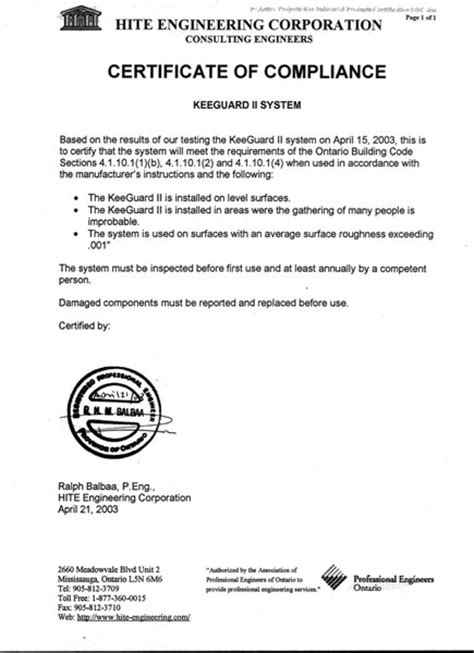 certification letter for contractor certification letter construction completion letter format
