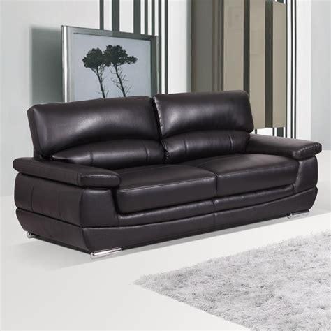 new signature leather sofas