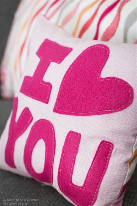 images of love pillow quot i love you quot pillow classy clutter